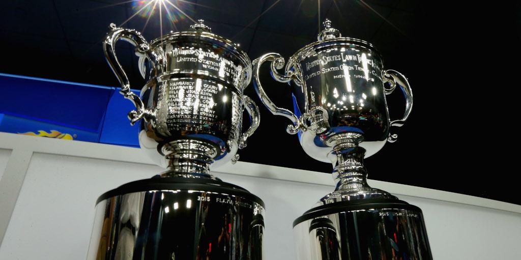 US Open trophies