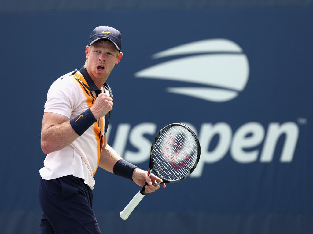 Kyle Edmund pumped at US Open