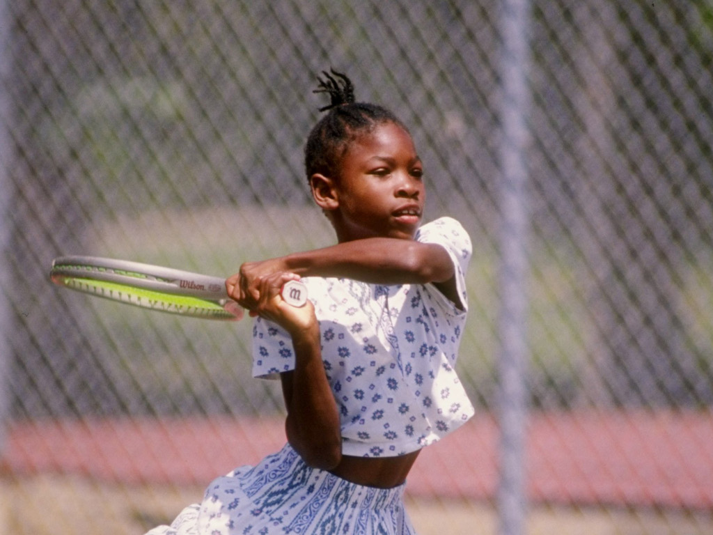 Young Serena Williams