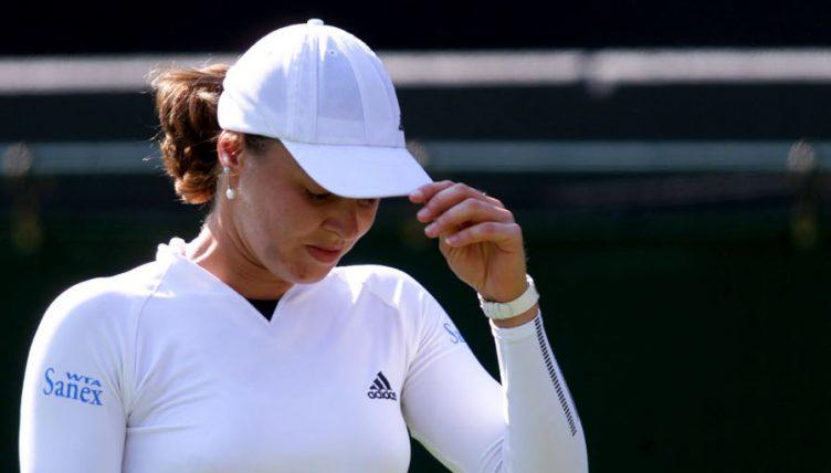 Martina Hingis after Wimbledon defeat
