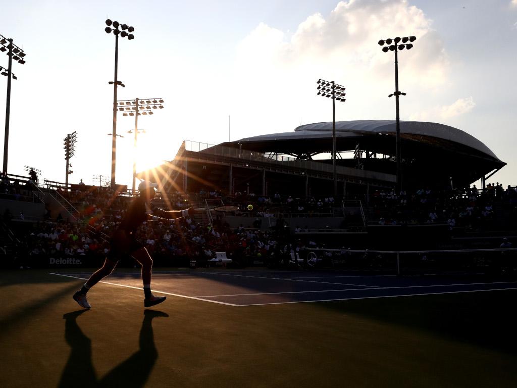 US Open sunshine