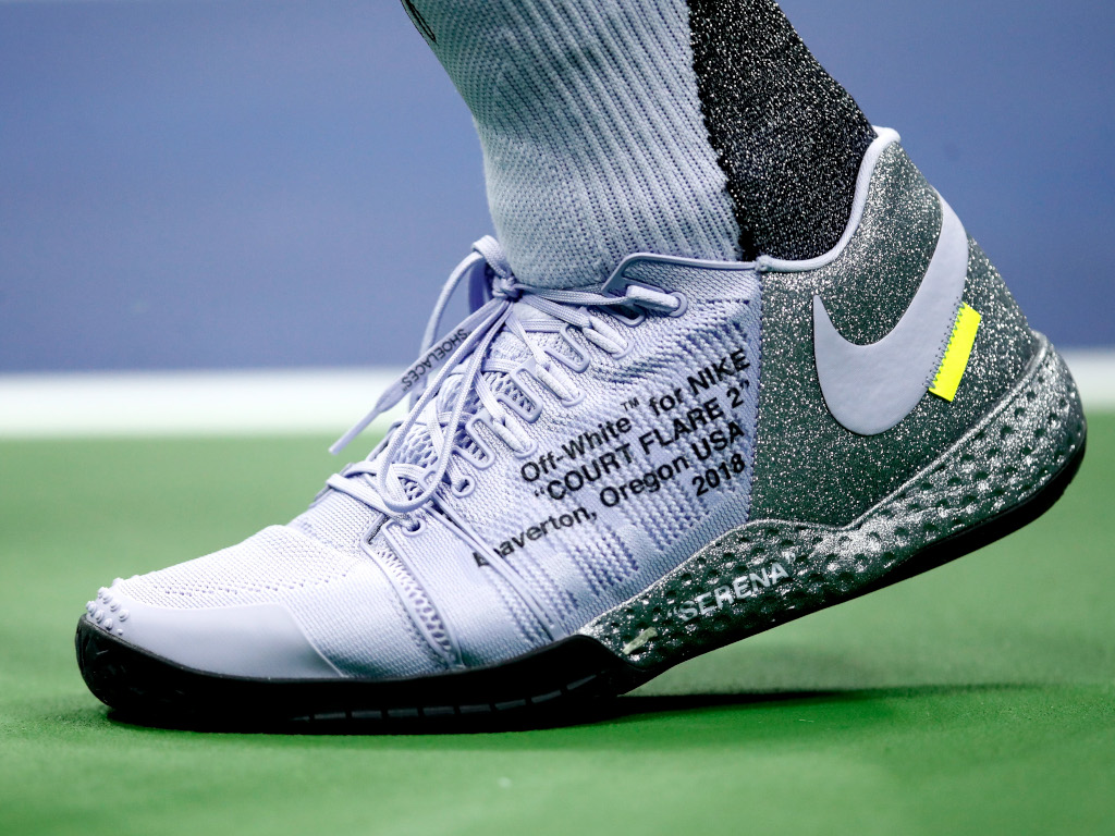 Serena Williams shoes