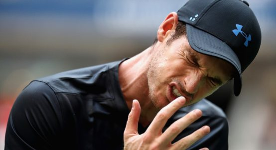 Andy Murray upset