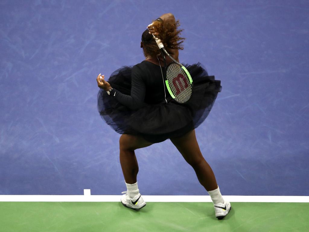 Serena Williams in a tutu