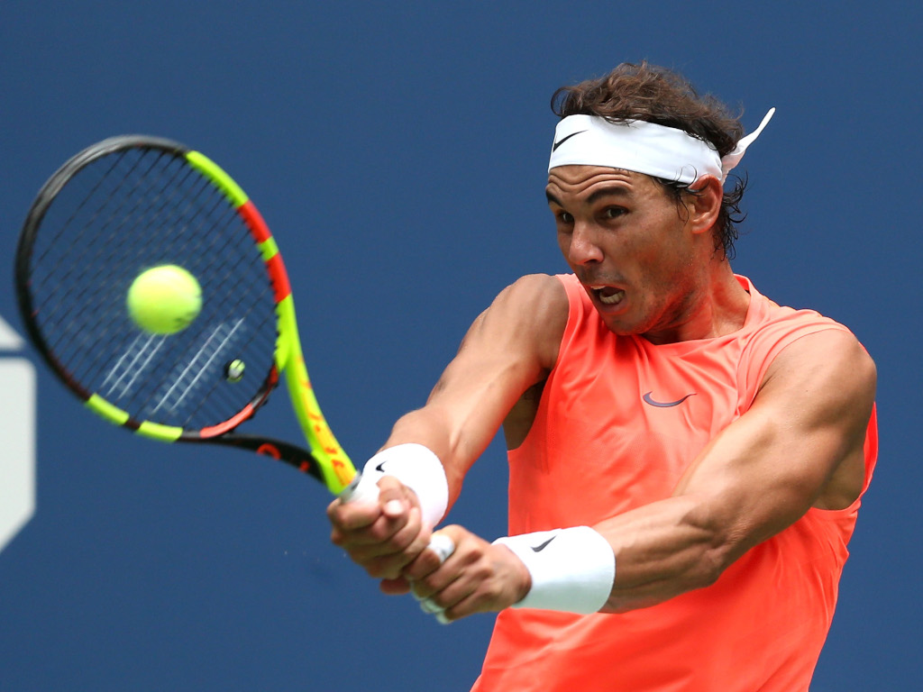 Rafael Nadal two-handed backhand