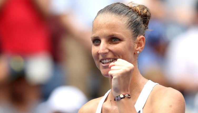 Karolina Pliskova all smiles