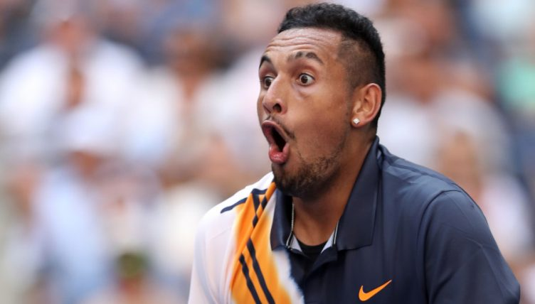Nick Kyrgios stunned