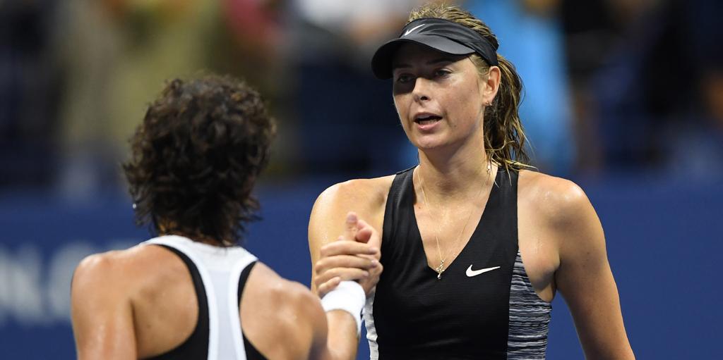 Maria Sharapova disappointed