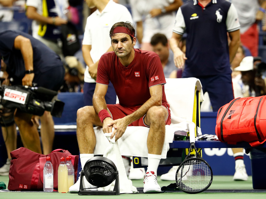 Roger Federer beaten at US Open