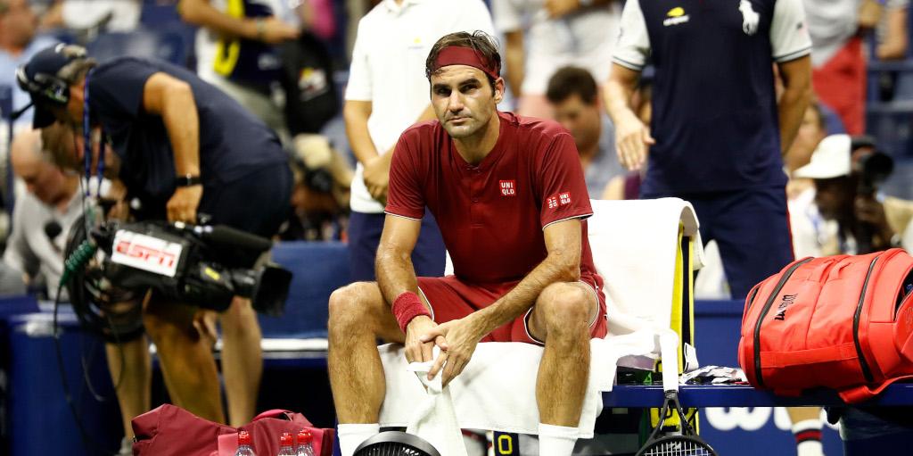 Roger Federer stunned