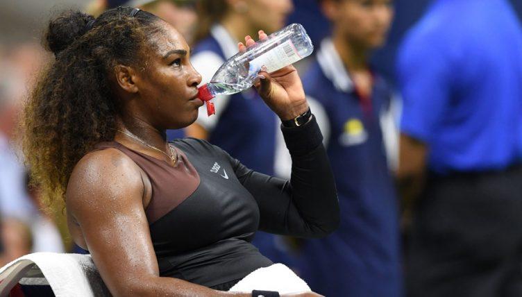 Serena Williams drink