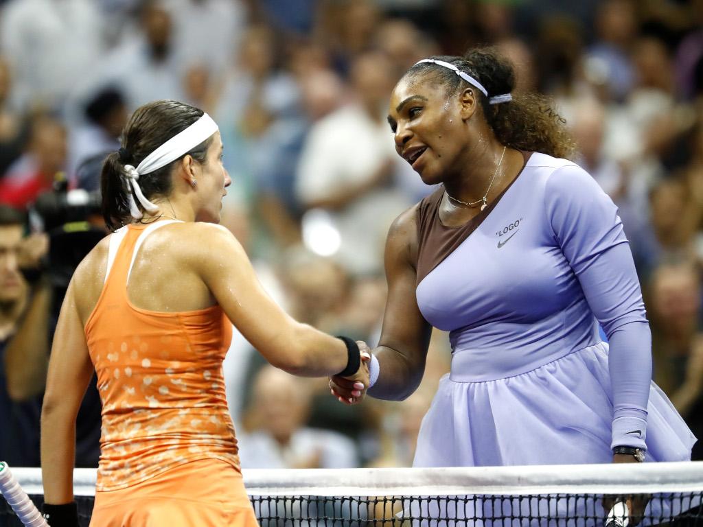 Anastasija-Sevastova-and-Serena-Williams-shaking-hands