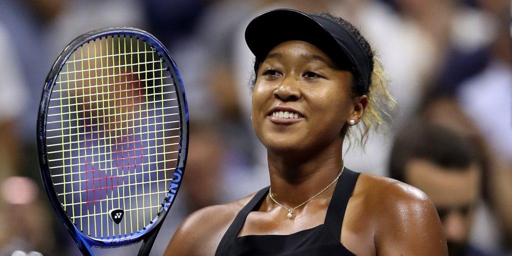 Victory for Naomi Osaka