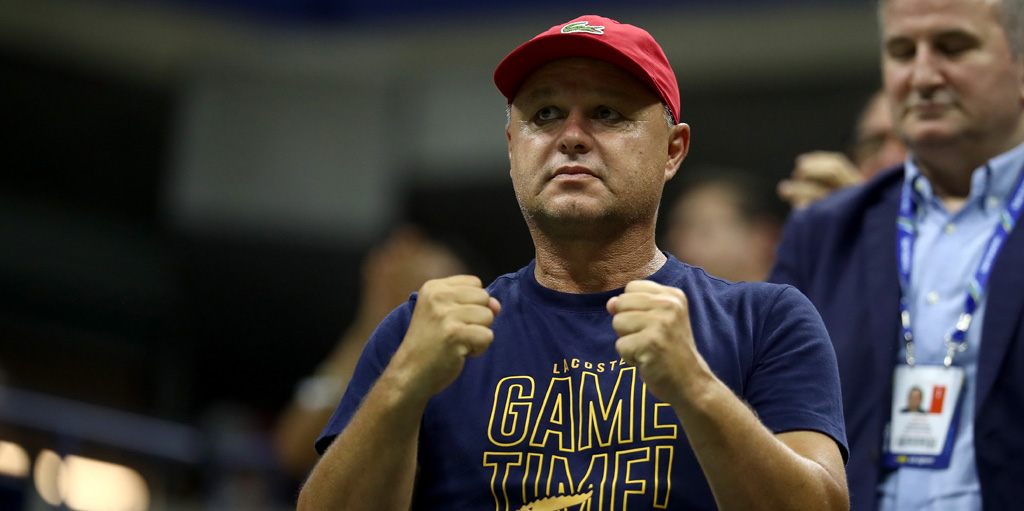 Marian Vajda Novak Djokovic coach