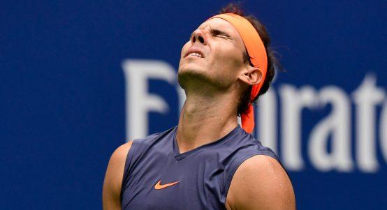 Rafael Nadal anguish