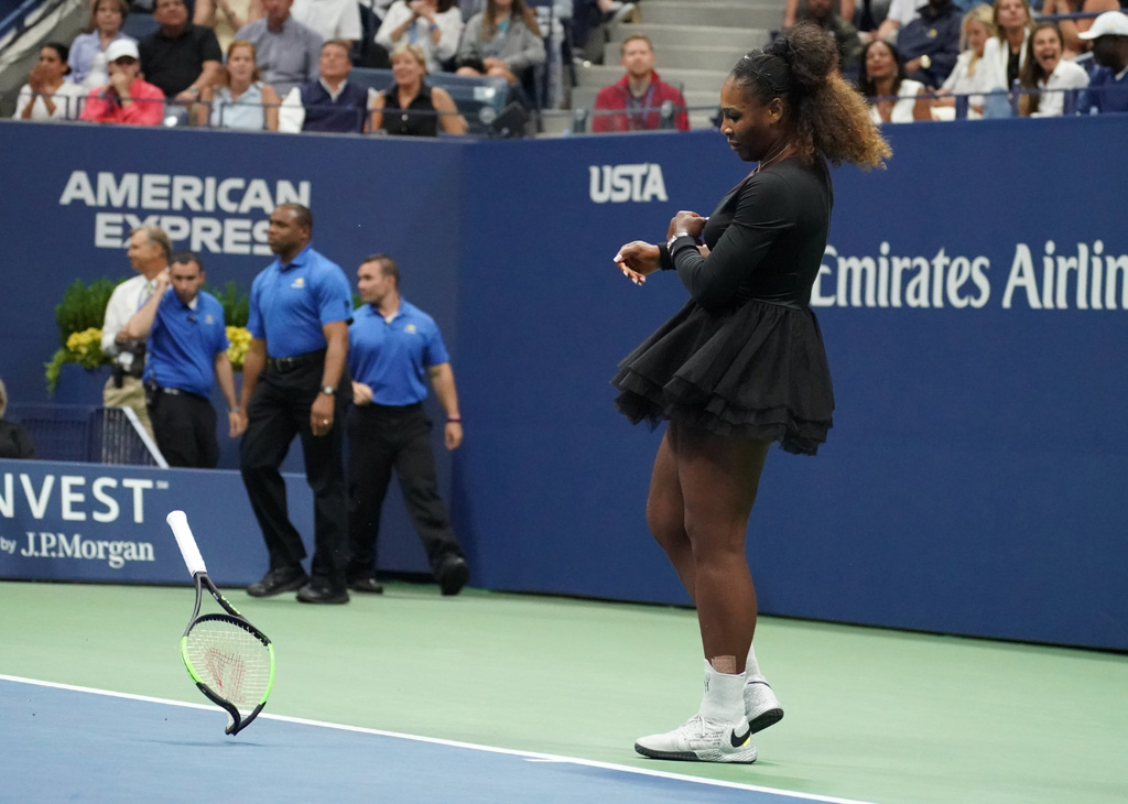 2018 US Open Serena Williams Naomi Osaka