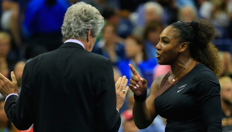 Serena Williams rages at referee