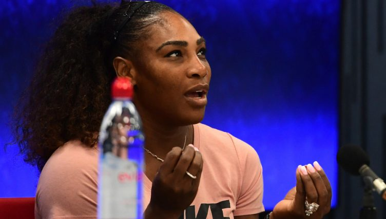 Serena Williams press conference
