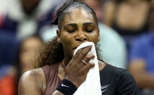 Serena Williams upset