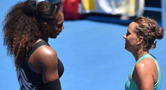 Barbora Strycova Serena Williams