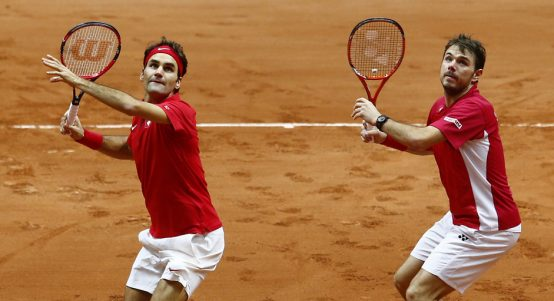 Roger Federer and Stan Wawrinka