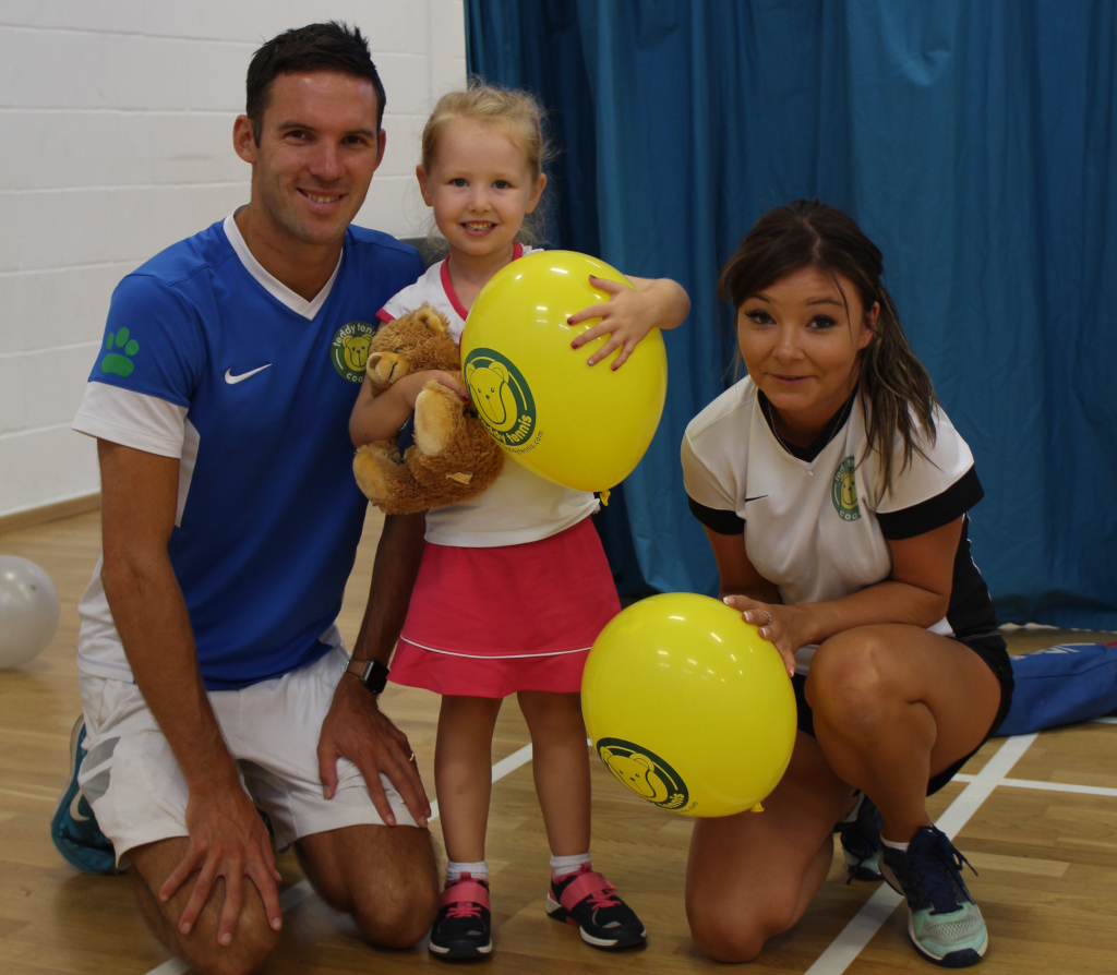 Teddy-Tennis-coach-Nick-Raper-with-Ana-Palmer-and-coach-Chantel