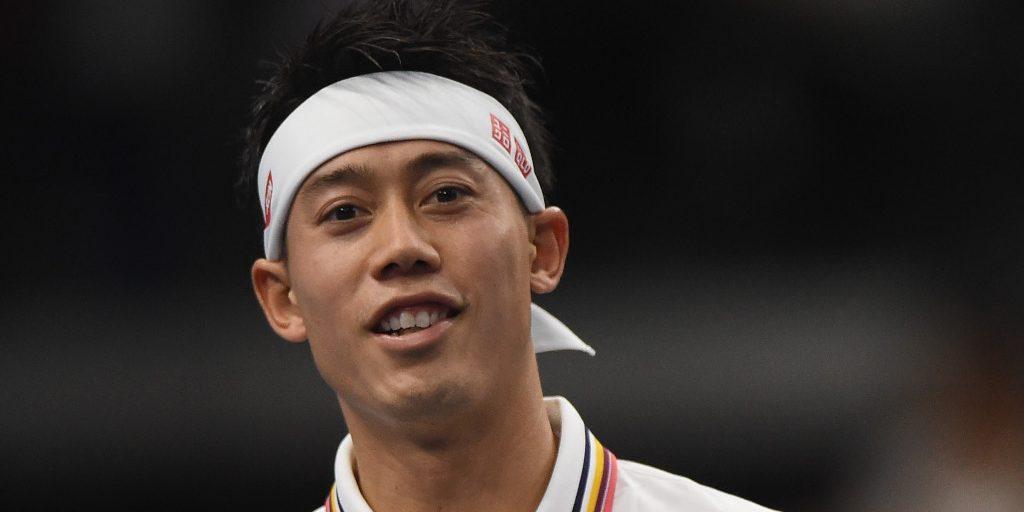 Kei Nishikori smiling