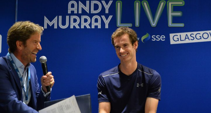 Marcus Buckland interviews Andy Murray