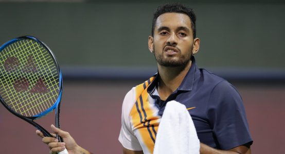 Nick Kyrgios unimpressed