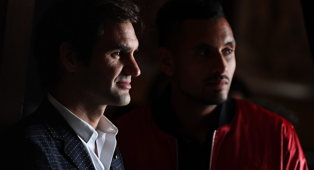 Roger Federer and Nick Kyrgios press conference
