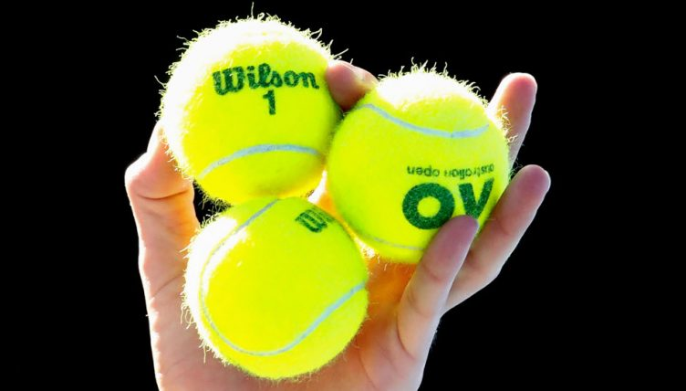 Yellow tennis balls