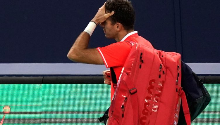 Juan Martin del Potro disappointed