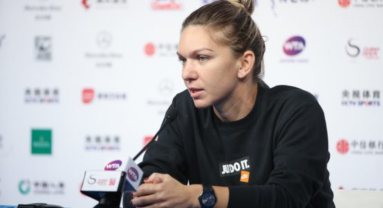 Simona Halep press conference