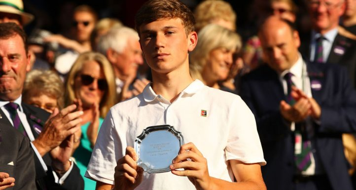 Jack Draper Wimbledon Boys' Final