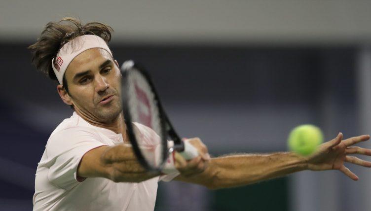 Roger Federer forehand