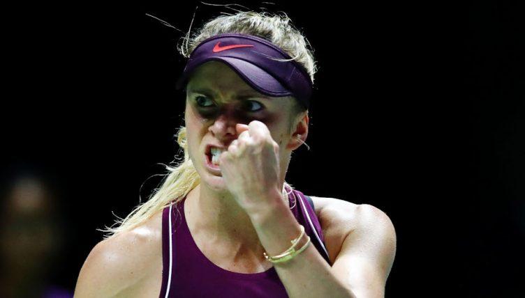 Elina Svitolina pumped up
