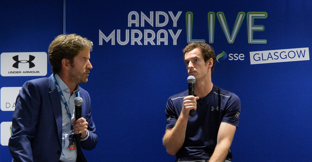 Marcus Buckland and Andy Murray interview