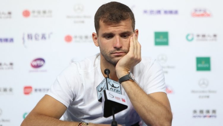 Grigor Dimitrov downcast