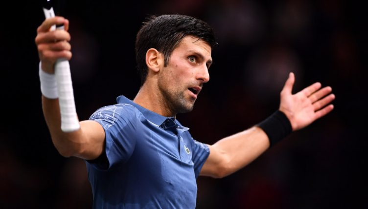 Novak Djokovic annimated