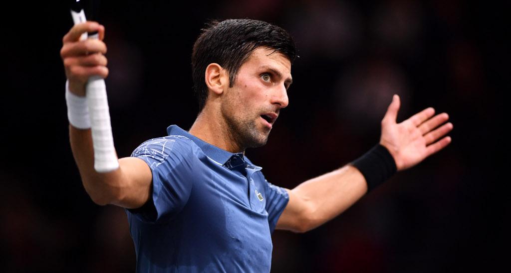 Novak Djokovic annimated