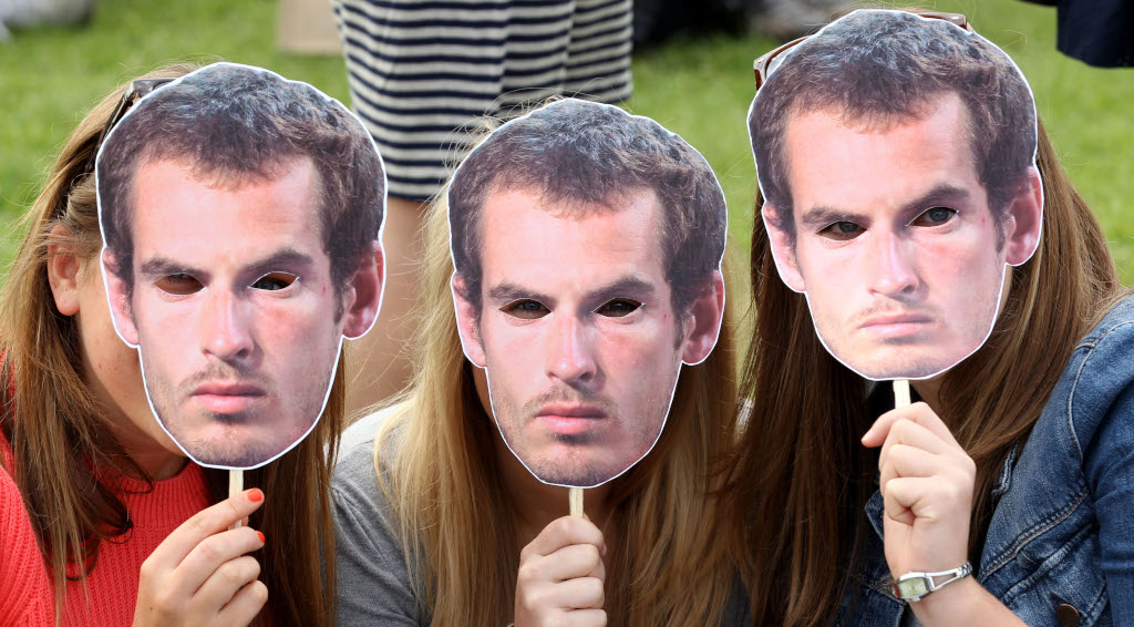 Andy Murray masks