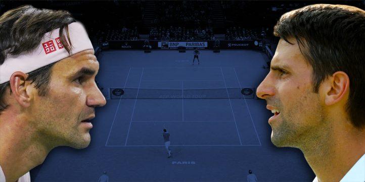 Roger Federer v Novak Djokovic