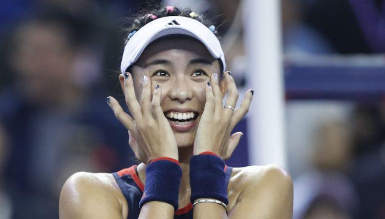 Wang Qiang emotional