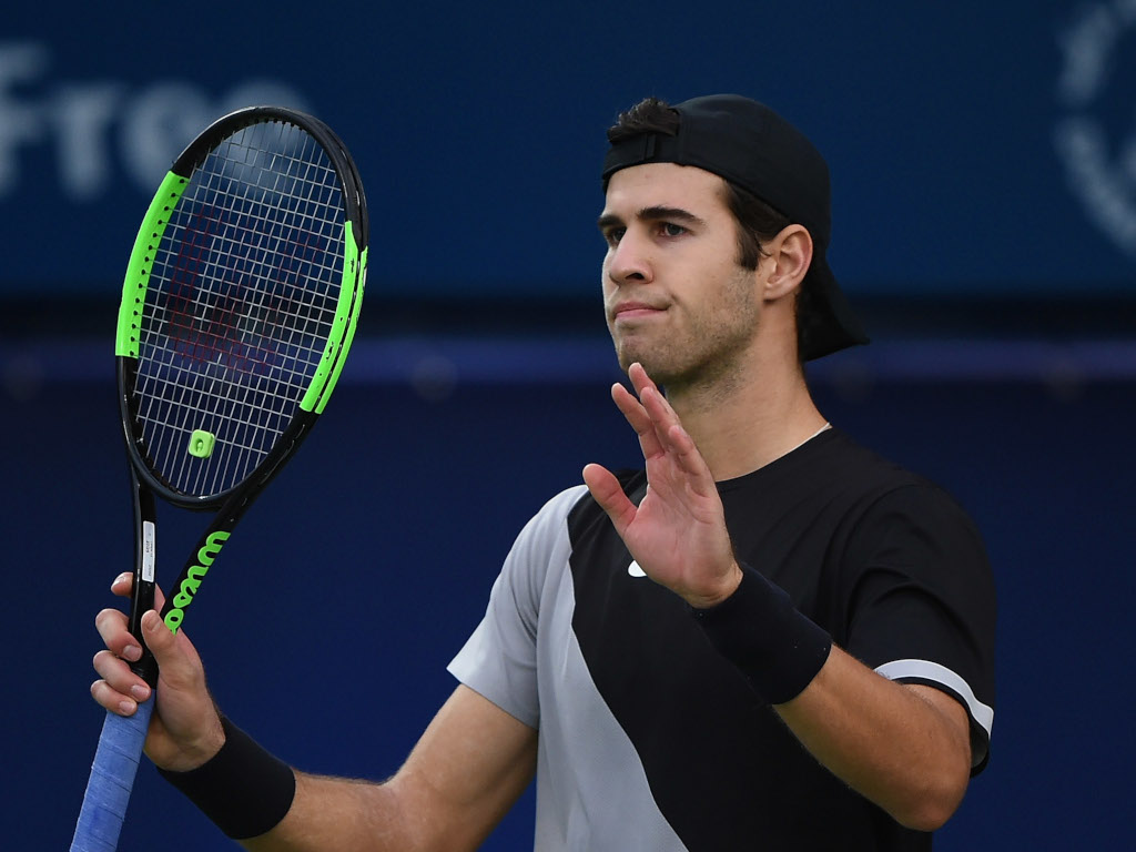 Karen Khachanov reaction
