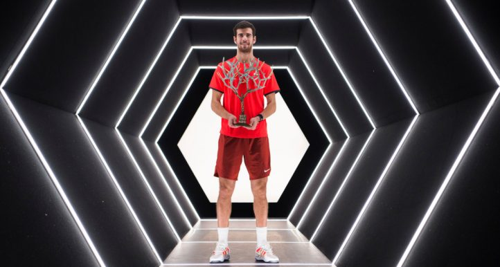Karen Khachanov with ATP Masters 1000 title