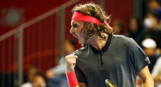 Stefanos Tsitsipas: Hoping to emulate Roger Federer