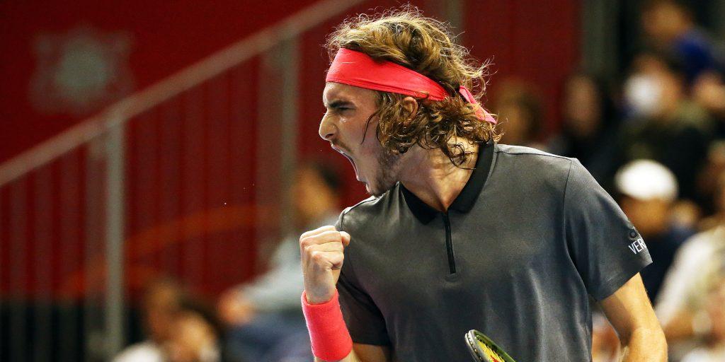 Stefanos Tsitsipas: Hoping to emulate tennis legend Roger Federer