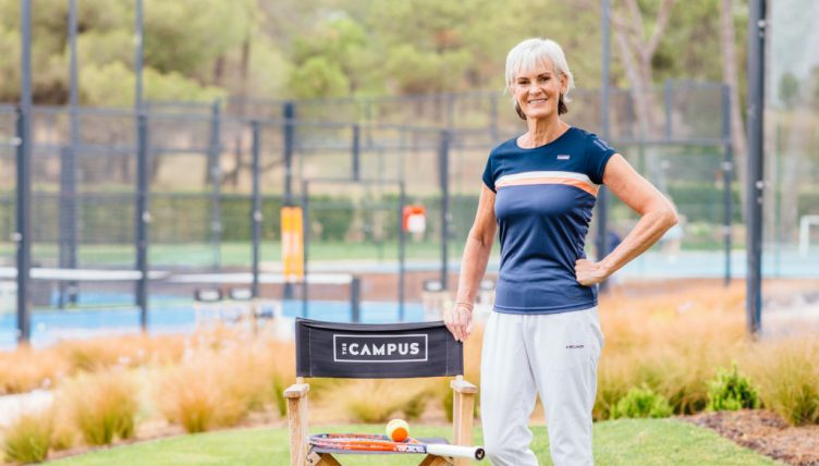 Judy Murray at The Campus