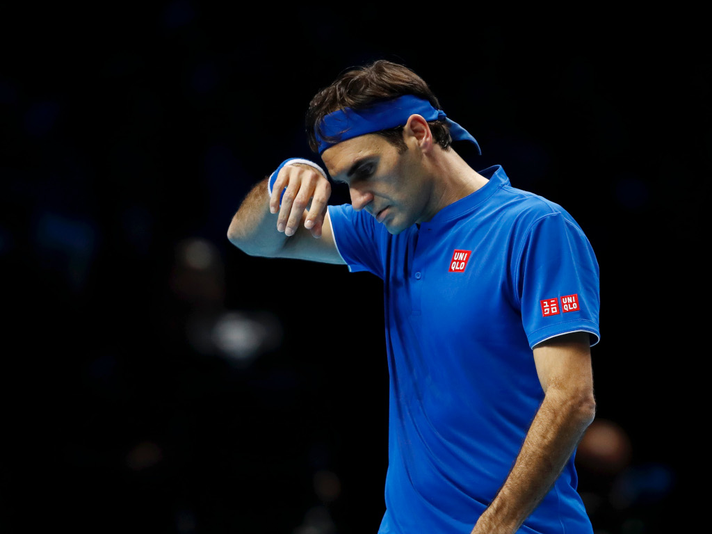 Roger Federer defeated