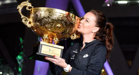 Agnieszka Radwanska with China Open trophy